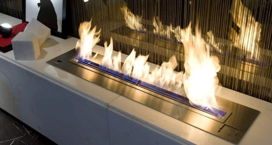 trendy electric fire