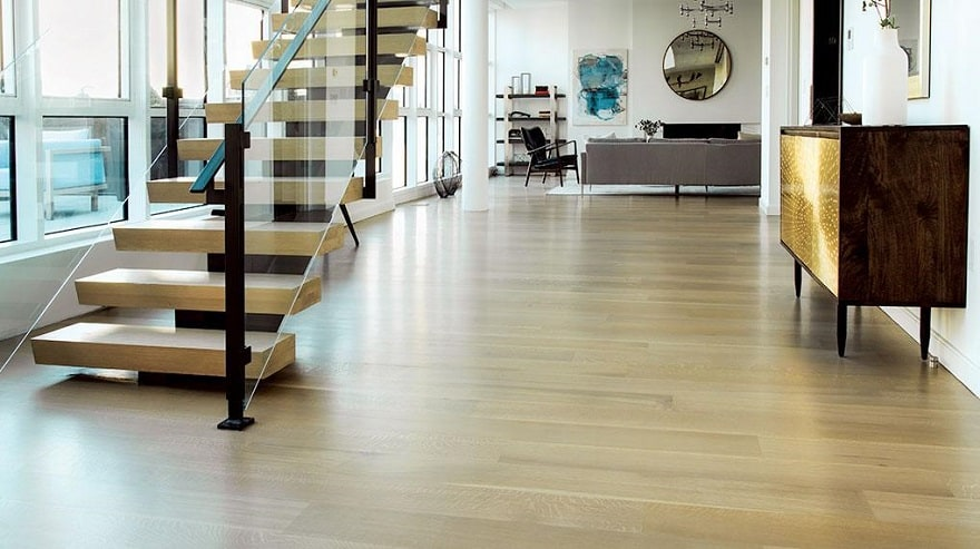 hardwood flooring looks great
