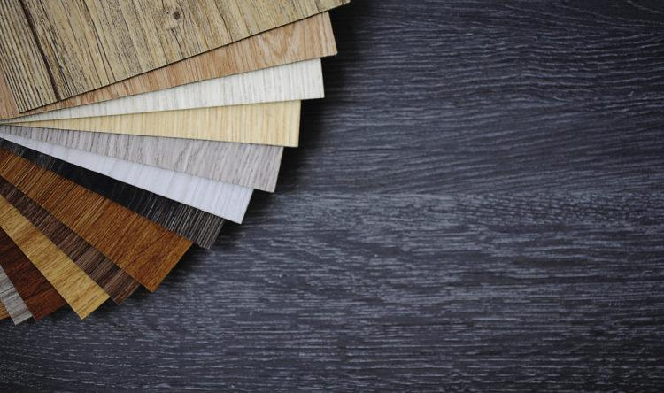 laminate material for floors