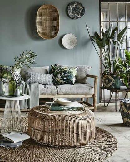 fabrics in tropical interior