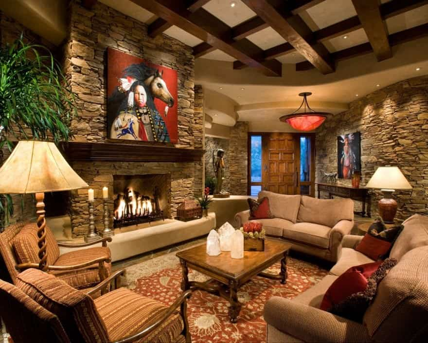 beautiful style living room