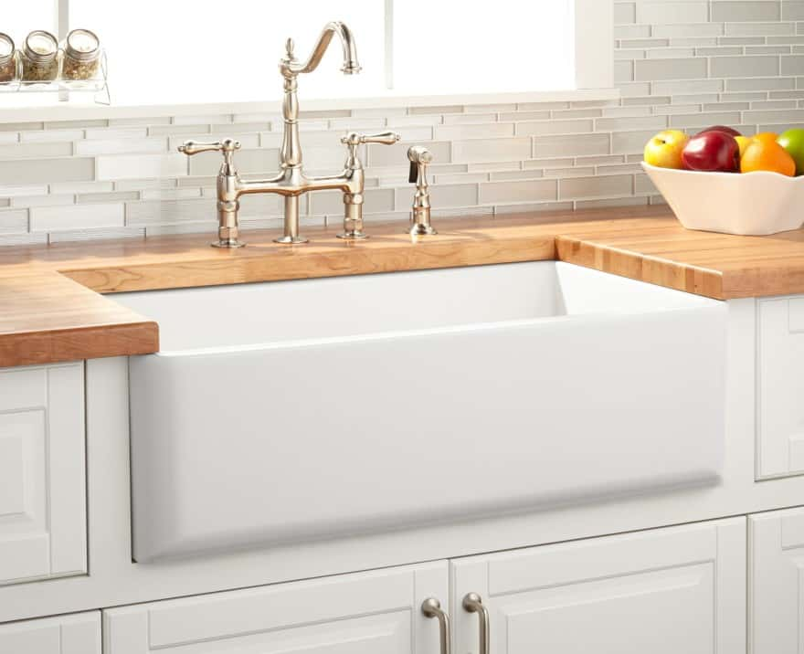 Apron Farmhouse Sink double bowl