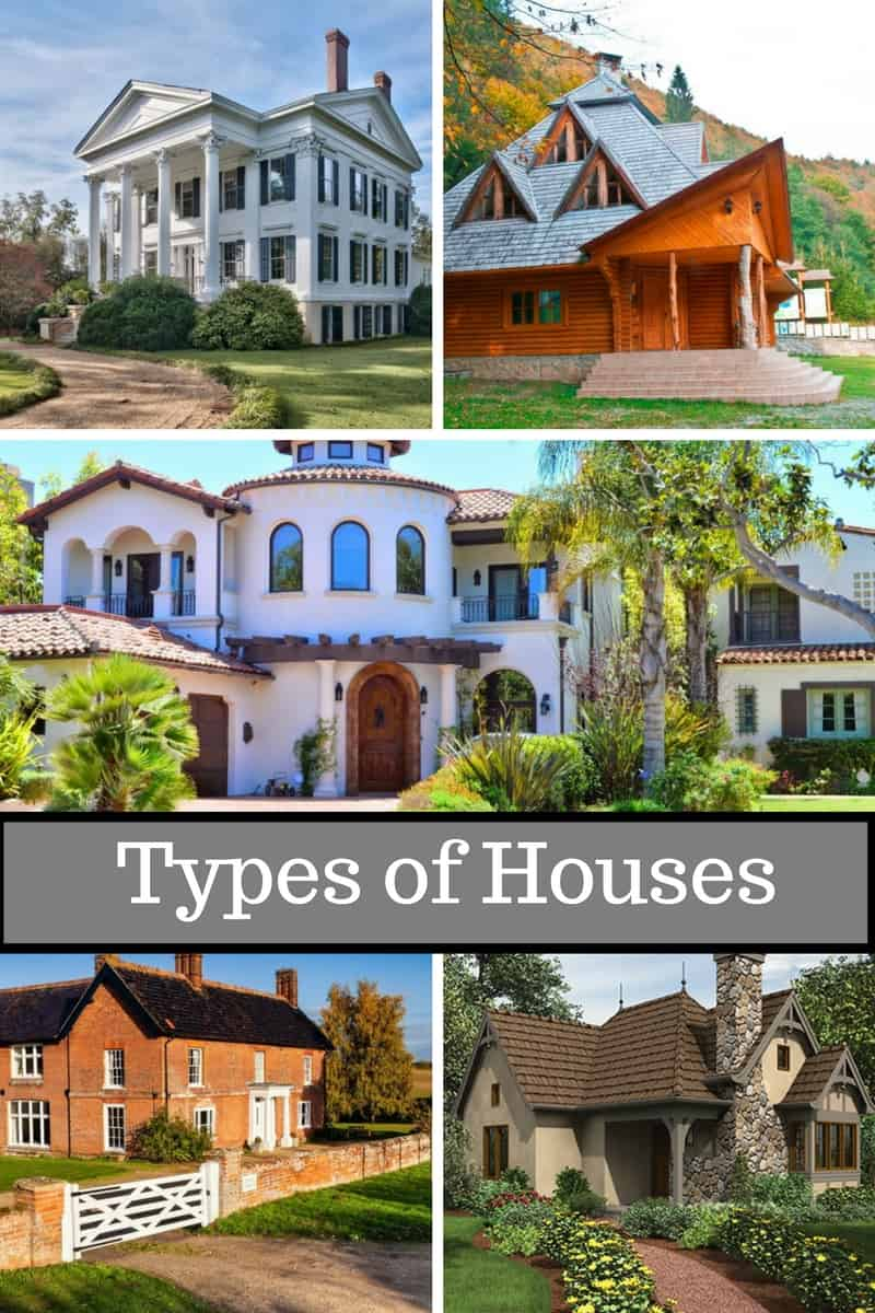 20 Popular Types of Houses with Names and Pictures
