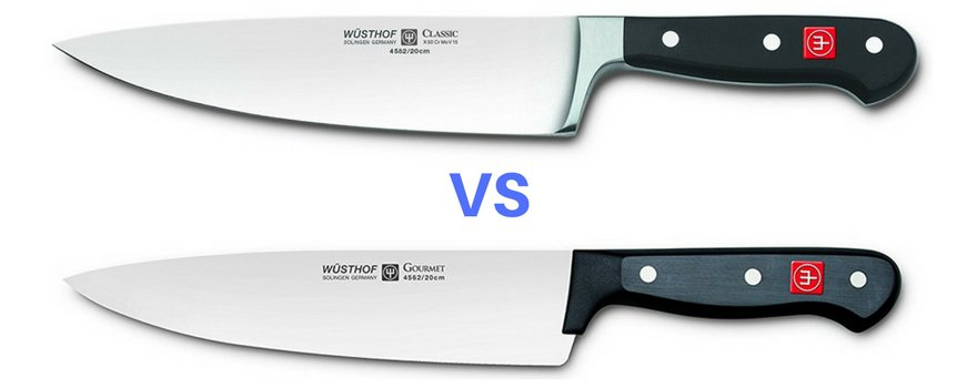 Wusthof Classic Vs Gourmet Knife comparison guide