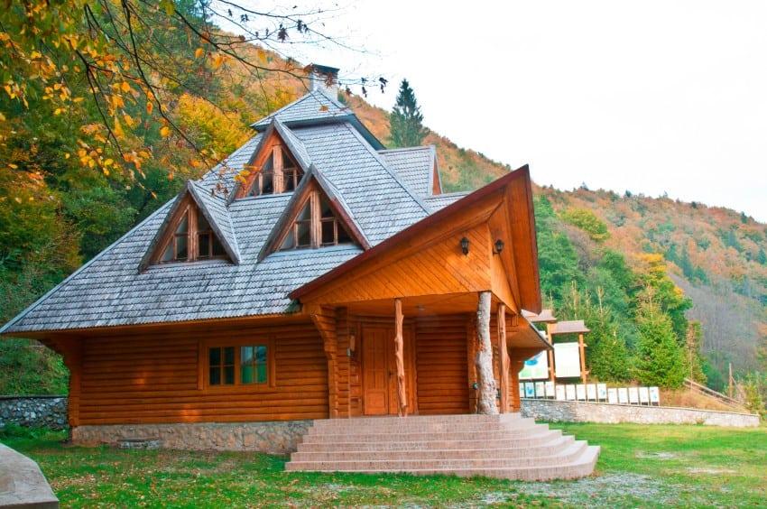 american log cabin