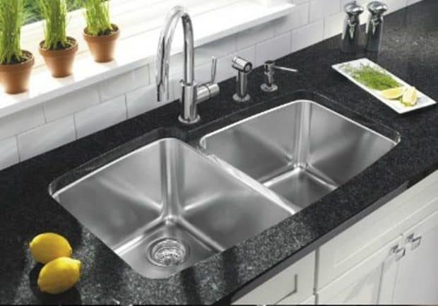 Blanco undermount stainless steel sink