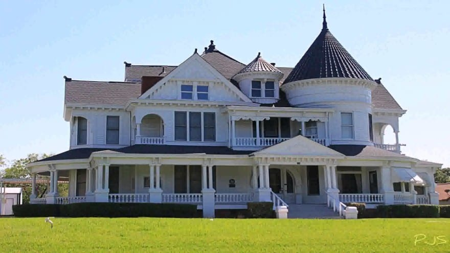 big victorian house