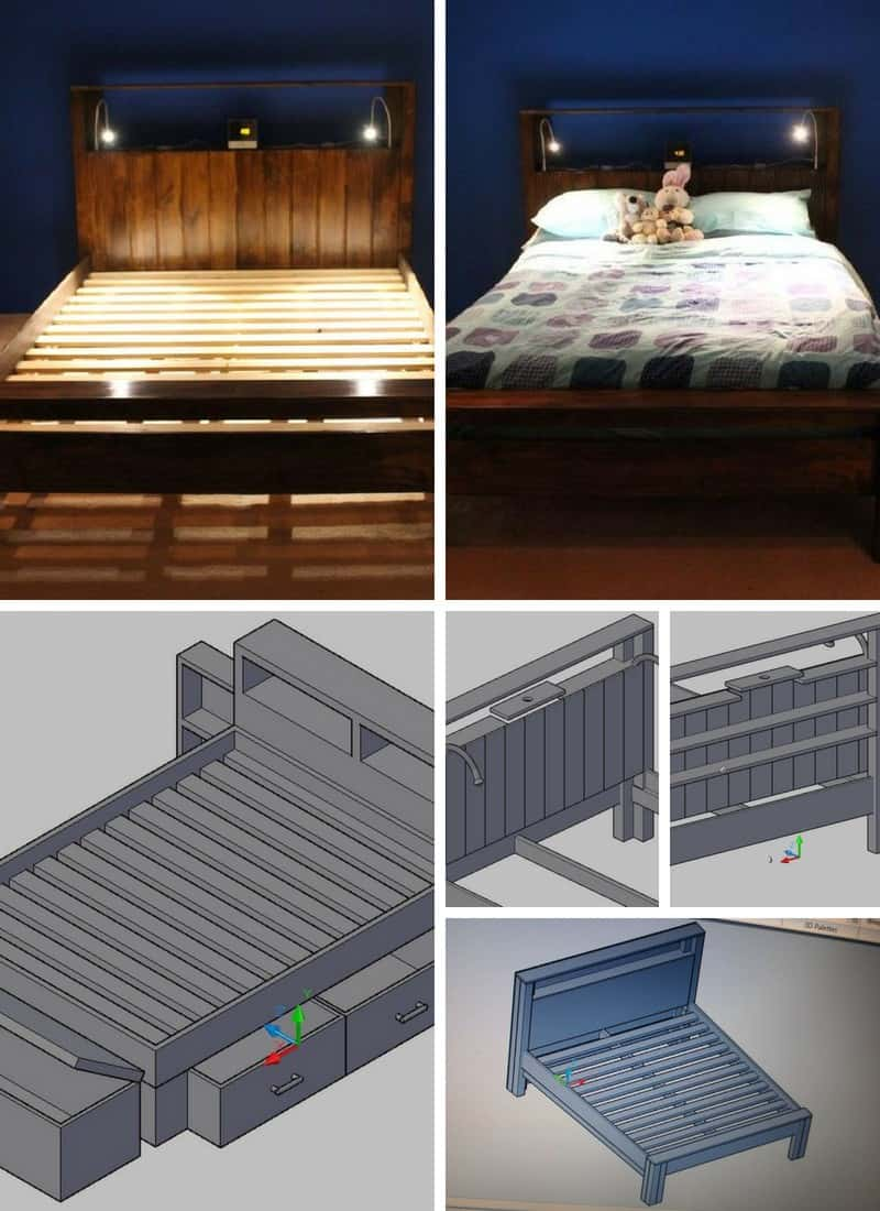 20 Diy Bed Frame Ideas For Your Home Epic Home Ideas