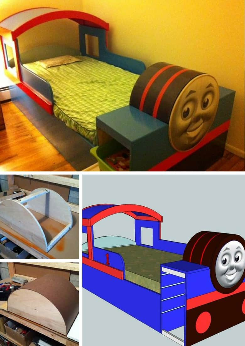 Thomas Train bed frame for kids