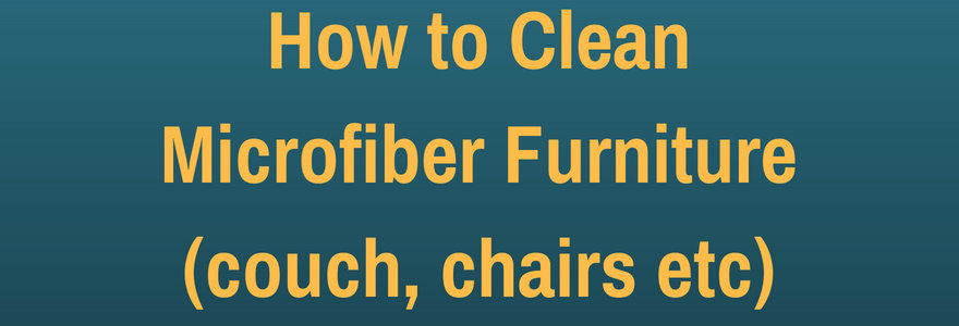 cleaning guide for furniture