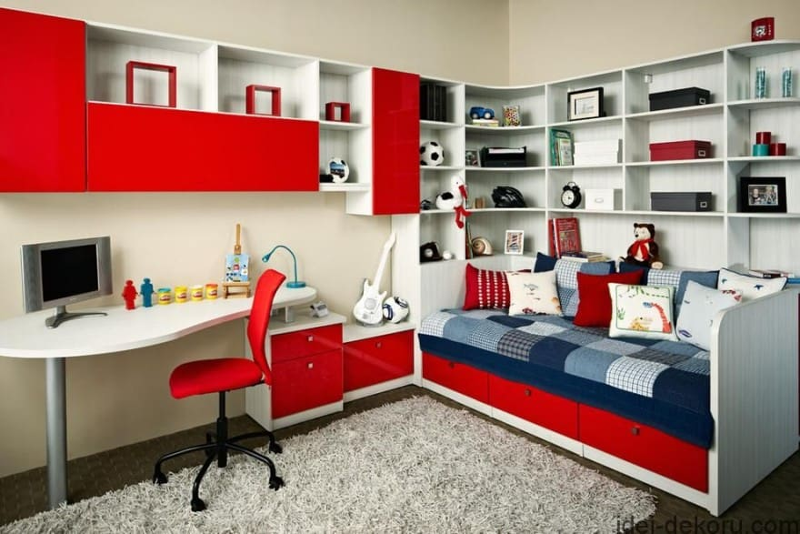 storage for teen bedrooms