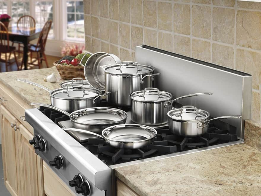 Cuisinart Multiclad MCP-12N cookware set