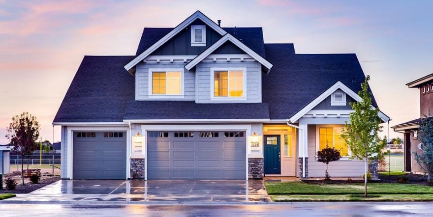 various styles and types of garage doors