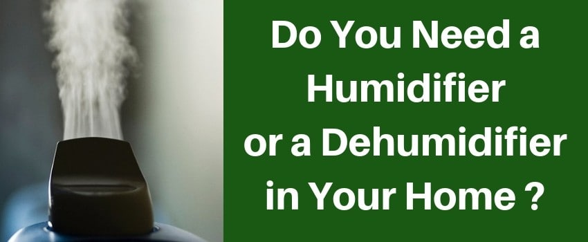 Do I Need a Humidifier or a Dehumidifier in My Home?