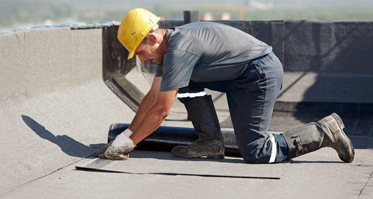 TPO roof material