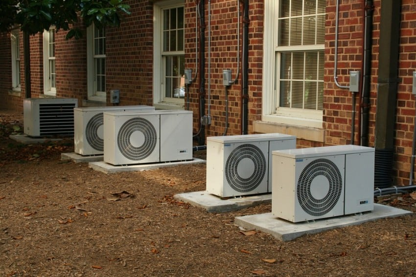 air condition units in home