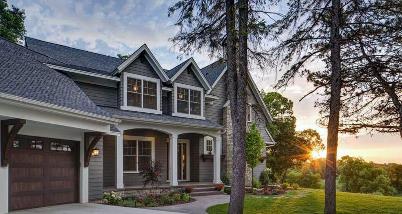 Cedar wood siding makes your house look attractive