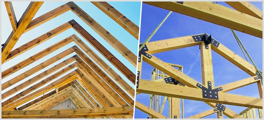 Roof Rafters Vs Trusses Which One Is Better For Home Roofing Epic Home Ideas