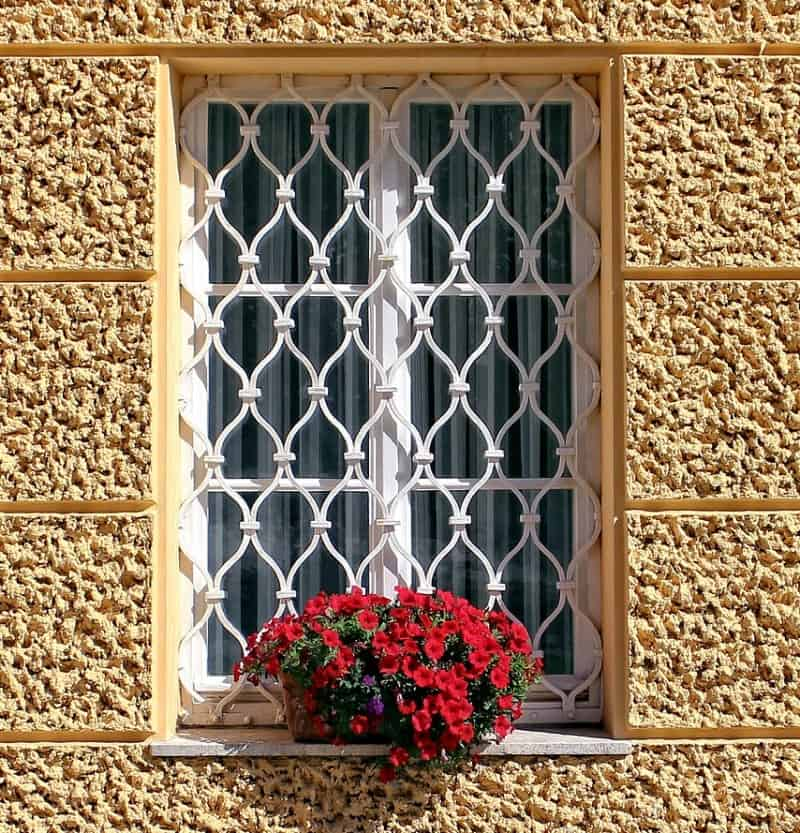 grilles on window