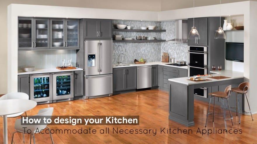 efficient space kitchen design