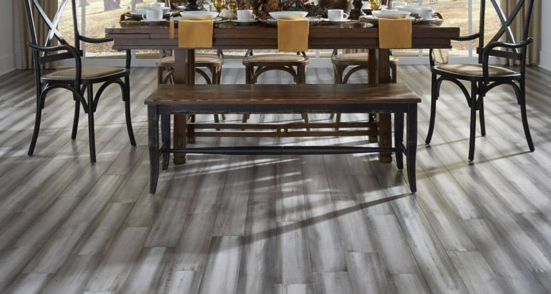 Bamboo flooring helps you create a style statement
