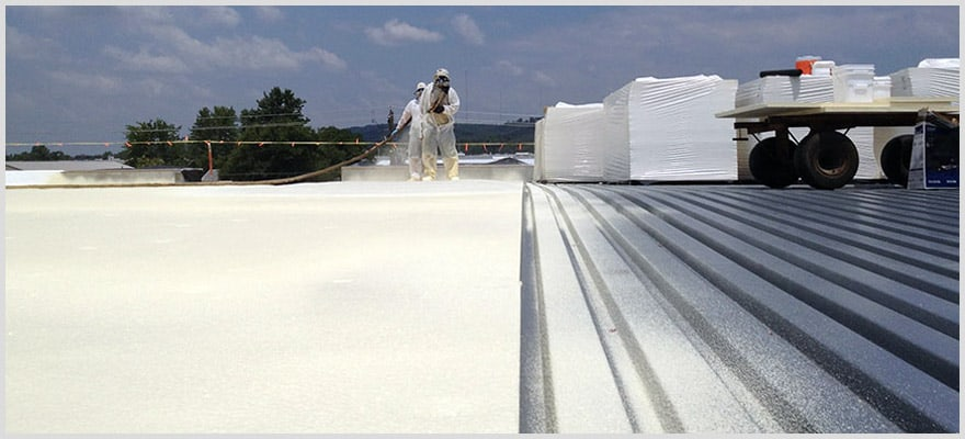 Pros and cons of spray foam roofing