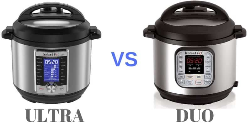 comparison of ultra with duo pressure cookers