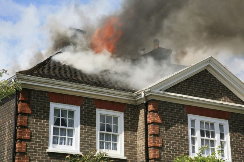house fire tips