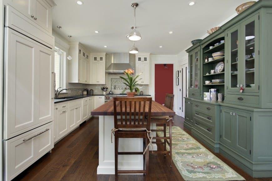 grey white kitchen