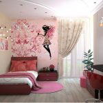 Decorated Girl's Room