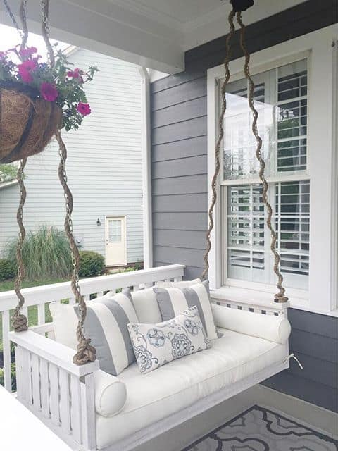Fancy Porch Swing