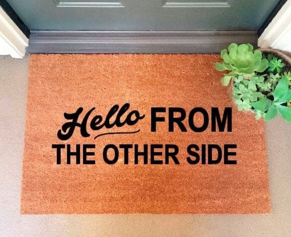 Front Door Entrance Welcome Mat