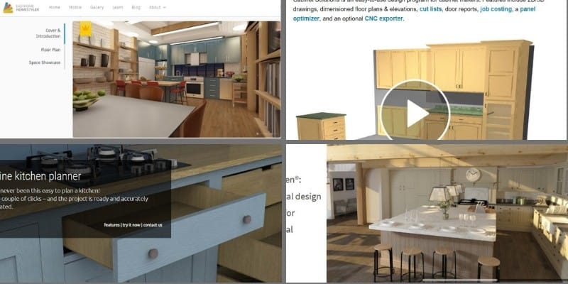 15 Best Free and Paid Cabinet Design Software for Kitchens ...