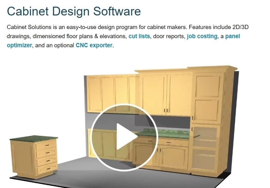 custom cabinet software