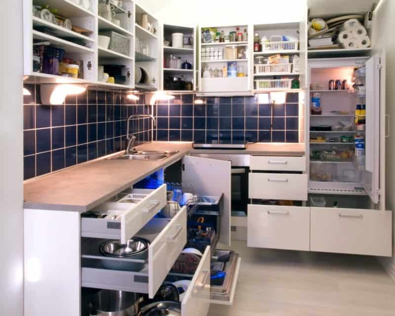 kitchen organization DIY tips