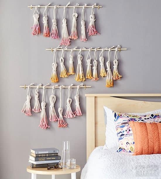 Tassels Wall Hanging