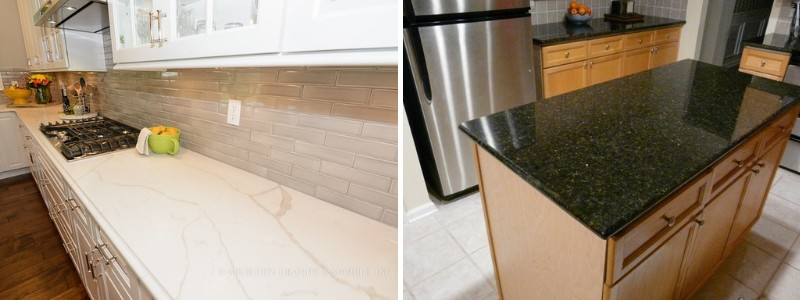 Marble kitchen countertop | Granite kitchen countertop