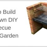 How To Build Your Own DIY Garden Barbecue