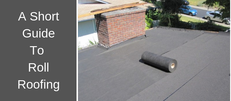 Rolled roof material