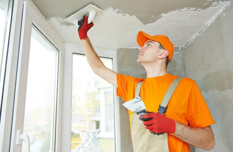 plasterer worker
