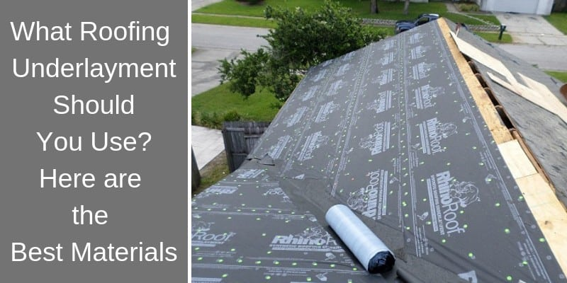 Synthetic Roof Underlayment Brands Latest Rooftop Ideas