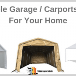 5 Best Portable Garage in-a-box (Carport-Canopy) 10x20,12x20 (in 2020)