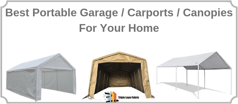 comparison and review of portable garage in a box