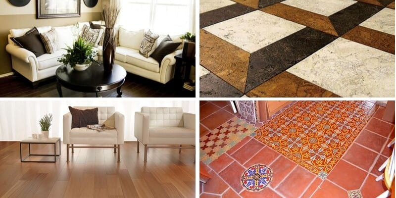 various flooring for homes