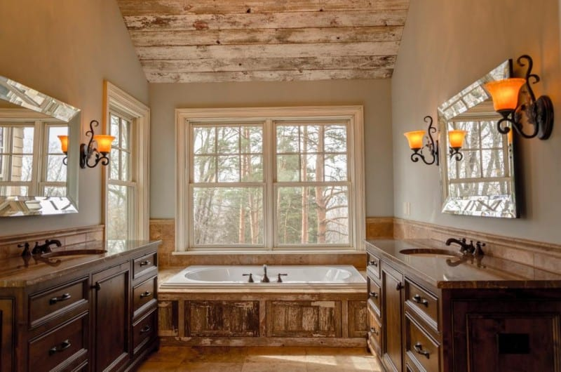 country home bathroom