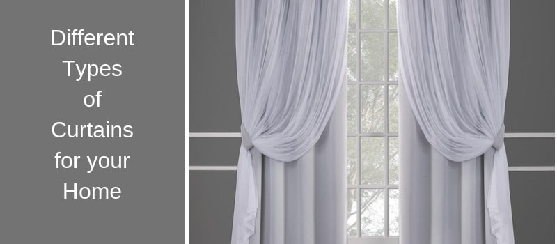 various styles of home curtains