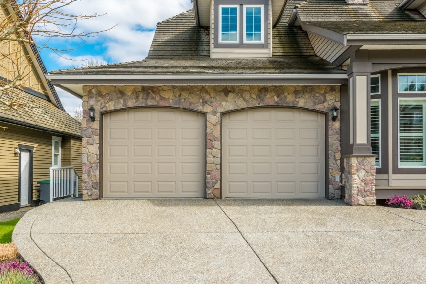two car garage detached