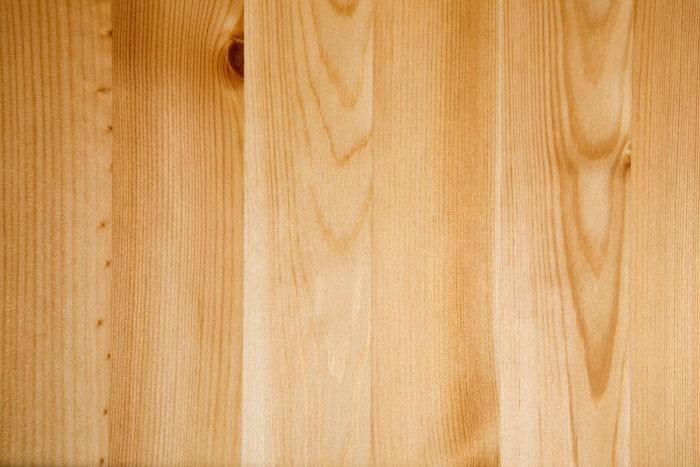 white pine floor