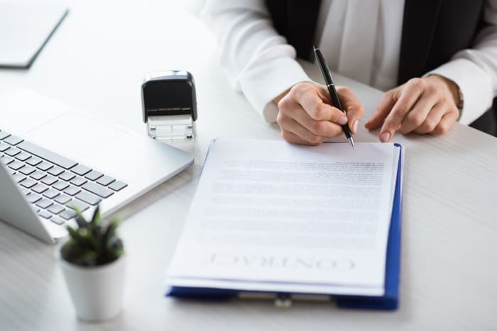 documents and contracts