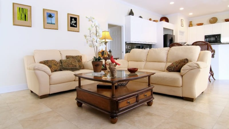 furniture in house